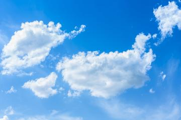 blue sky with cloud closeup- Stock Photo or Stock Video of rcfotostock | RC-Photo-Stock