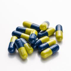 Blue yellow heap capsules therapy pills flu doctor antibiotic pharmacy medicine medical- Stock Photo or Stock Video of rcfotostock | RC-Photo-Stock