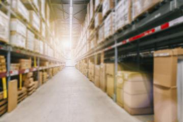 Blur image of a warehouse with multi layer shelves- Stock Photo or Stock Video of rcfotostock | RC-Photo-Stock