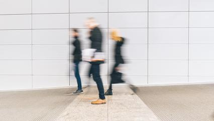 blurred anonymous people walking in a floor- Stock Photo or Stock Video of rcfotostock | RC-Photo-Stock