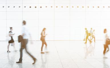 Blurred business passengers on a airport- Stock Photo or Stock Video of rcfotostock | RC-Photo-Stock