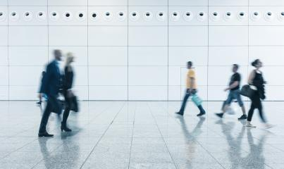 Blurred business people - Stock Photo or Stock Video of rcfotostock | RC-Photo-Stock