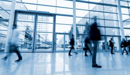 Blurred business people activity at a Exhibition hall- Stock Photo or Stock Video of rcfotostock | RC-Photo-Stock