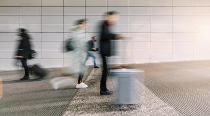 blurred business people at a airport- Stock Photo or Stock Video of rcfotostock | RC-Photo-Stock