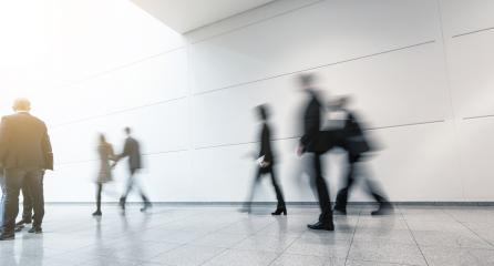 Blurred business people at a Exhibition- Stock Photo or Stock Video of rcfotostock | RC-Photo-Stock