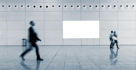 Blurred business people at a walkway- Stock Photo or Stock Video of rcfotostock | RC-Photo-Stock