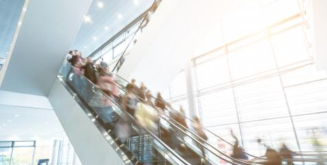 Blurred business people at staircases in motion- Stock Photo or Stock Video of rcfotostock | RC-Photo-Stock