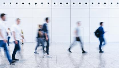 blurred business people crowd at a trade fair- Stock Photo or Stock Video of rcfotostock   RC-Photo-Stock