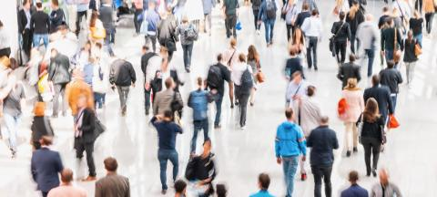 blurred business people crowd at a trade show, concept image : Stock Photo or Stock Video Download rcfotostock photos, images and assets rcfotostock | RC-Photo-Stock.: