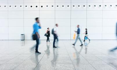 Blurred business people going on a floor- Stock Photo or Stock Video of rcfotostock | RC-Photo-Stock