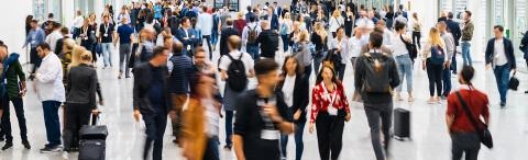 blurred business people in a modern corridor- Stock Photo or Stock Video of rcfotostock   RC-Photo-Stock