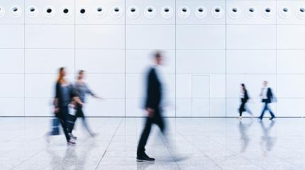 blurred business people in a modern corridor- Stock Photo or Stock Video of rcfotostock | RC-Photo-Stock