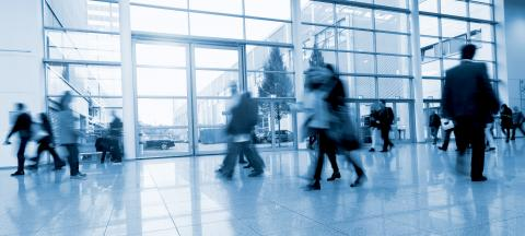 blurred business people in a Office Building- Stock Photo or Stock Video of rcfotostock | RC-Photo-Stock