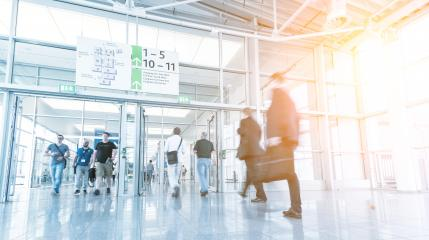 Blurred business people on a airport- Stock Photo or Stock Video of rcfotostock | RC-Photo-Stock