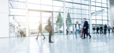 Blurred business people on a modern floor- Stock Photo or Stock Video of rcfotostock | RC-Photo-Stock