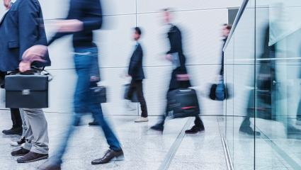 Blurred business people walking- Stock Photo or Stock Video of rcfotostock | RC-Photo-Stock