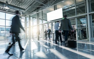 Blurred business people walking at a entrance - Stock Photo or Stock Video of rcfotostock | RC-Photo-Stock