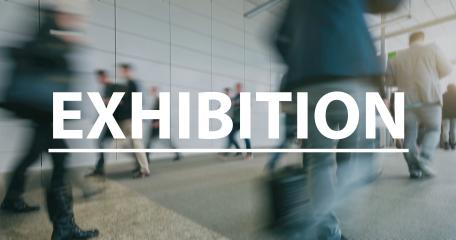 blurred Business people walking on a exhibition - text Concept image- Stock Photo or Stock Video of rcfotostock | RC-Photo-Stock