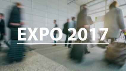 blurred Business people walking on a fair - text Concept image (Expo 2017)- Stock Photo or Stock Video of rcfotostock | RC-Photo-Stock