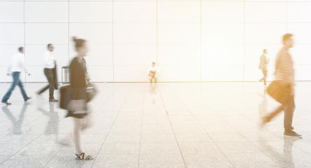 Blurred business travelers on a airport- Stock Photo or Stock Video of rcfotostock | RC-Photo-Stock