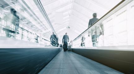 blurred commuters on a escalator- Stock Photo or Stock Video of rcfotostock   RC-Photo-Stock