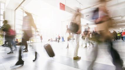 blurred commuters walking by- Stock Photo or Stock Video of rcfotostock | RC-Photo-Stock