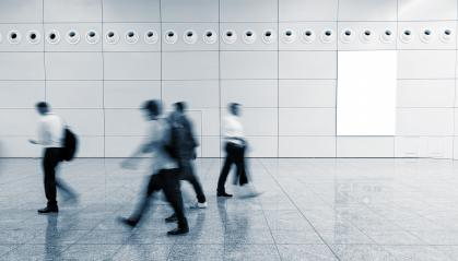 Blurred commuters walking in a floor of a airport- Stock Photo or Stock Video of rcfotostock   RC-Photo-Stock