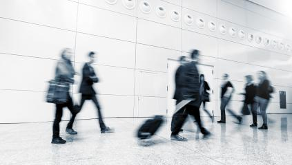 Blurred Commuters walking in a modern floor- Stock Photo or Stock Video of rcfotostock | RC-Photo-Stock