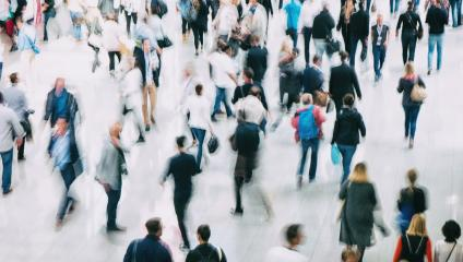 blurred crowd of people rushing- Stock Photo or Stock Video of rcfotostock | RC-Photo-Stock