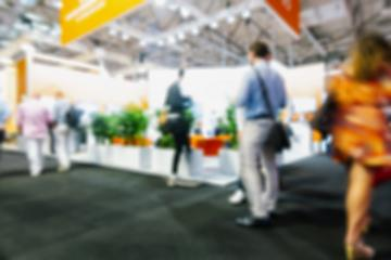 Blurred, defocused background of public event exhibition hall : Stock Photo or Stock Video Download rcfotostock photos, images and assets rcfotostock | RC-Photo-Stock.: