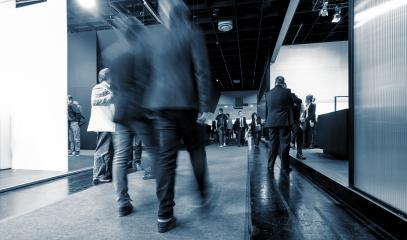 blurred Exhibition visitors in a floor- Stock Photo or Stock Video of rcfotostock | RC-Photo-Stock