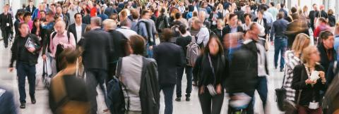 blurred large crowd of business people- Stock Photo or Stock Video of rcfotostock | RC-Photo-Stock