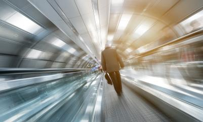 blurred passengers on a airport- Stock Photo or Stock Video of rcfotostock | RC-Photo-Stock