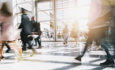 blurred people at a business center- Stock Photo or Stock Video of rcfotostock | RC-Photo-Stock