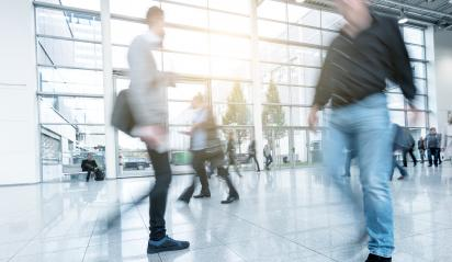 Blurred people at a modern floor- Stock Photo or Stock Video of rcfotostock | RC-Photo-Stock