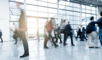 blurred people at a modern hall- Stock Photo or Stock Video of rcfotostock | RC-Photo-Stock
