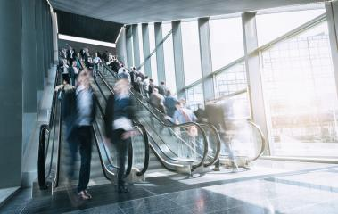 blurred people at staircases- Stock Photo or Stock Video of rcfotostock | RC-Photo-Stock