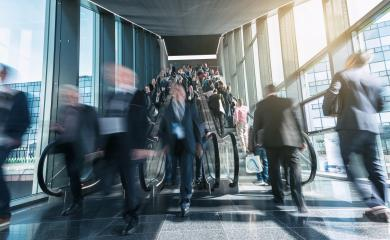 blurred people business at a trade fair staircases- Stock Photo or Stock Video of rcfotostock | RC-Photo-Stock