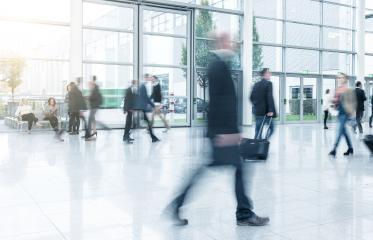 blurred people in a modern hall- Stock Photo or Stock Video of rcfotostock | RC-Photo-Stock