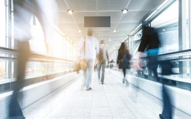 Blurred people in a shopping mall- Stock Photo or Stock Video of rcfotostock | RC-Photo-Stock