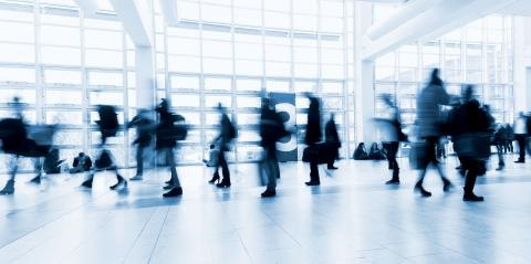 Blurred people in business center- Stock Photo or Stock Video of rcfotostock | RC-Photo-Stock