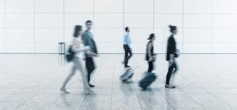 Blurred people on a airport- Stock Photo or Stock Video of rcfotostock | RC-Photo-Stock