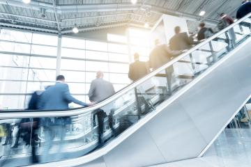 blurred people using a staircase- Stock Photo or Stock Video of rcfotostock | RC-Photo-Stock