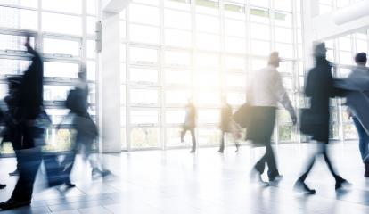 Blurred people walking at a Exhibition floor- Stock Photo or Stock Video of rcfotostock   RC-Photo-Stock
