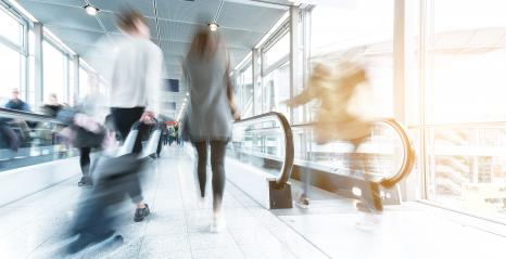 blurred people walking in a airport- Stock Photo or Stock Video of rcfotostock | RC-Photo-Stock