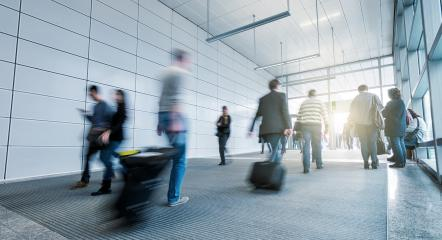 blurred people walking in a modern entrance- Stock Photo or Stock Video of rcfotostock | RC-Photo-Stock