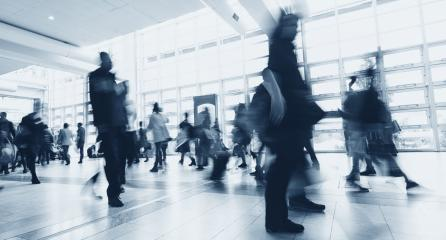 Blurred people walking in a modern environment- Stock Photo or Stock Video of rcfotostock | RC-Photo-Stock