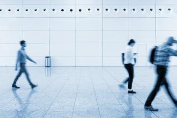 blurred people walking on a walkway- Stock Photo or Stock Video of rcfotostock | RC-Photo-Stock