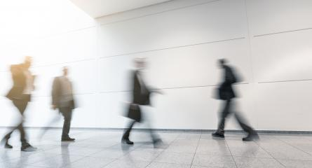 blurred trade fair visitors on a floor- Stock Photo or Stock Video of rcfotostock | RC-Photo-Stock