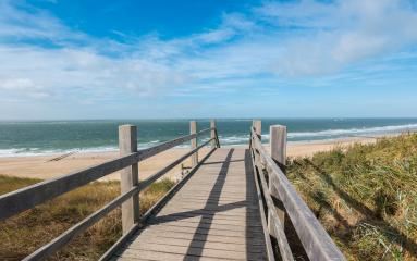 Boardwalk to the beach in domburg, North Holland, Netherlands- Stock Photo or Stock Video of rcfotostock | RC-Photo-Stock